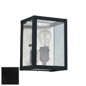 Ideal lux Applique industrielle Igor Noir Métal + Verre 092836