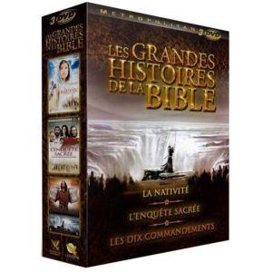 Les Grandes Histoires de la Bible : La Nativité + L'Enquête Sacrée + Les Dix Commandements