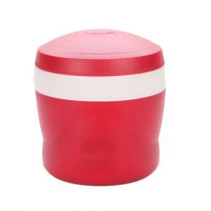Thermos Porte aliment isotherme avec cuillère pliable 24cl rouge - Snack Jar