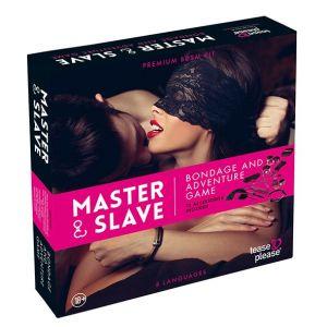 Tease and please Jeu Bondage Master & Slave Rose