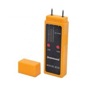 Silverline 675304 - Hygromètre pour bois - Humidité de 7 à 32 %