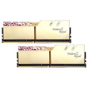 Image de G.Skill Trident Z Royal 16 Go (2x 8 Go) DDR4 3000 MHz CL16 - Or