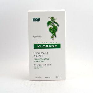 Klorane Tendance Grasse - Shampooing séborégulateur 200ml