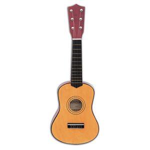 Bontempi 215520 - Instrument de Musique - Guitare Classique en Bois - 55 Cm