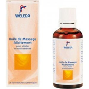 Weleda Huile de massage allaitement (50 ml)
