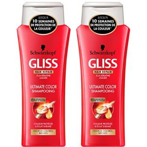 Schwarzkopf Gliss Shampooing - Color et Brillance 250 ml