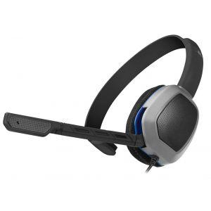 Afterglow PDP LVL 1 - Micro-casque Gaming Noir Licencié Sony pour PS4