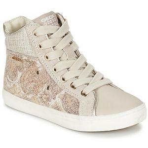 Geox Jr Kiwi H, Sneakers Hautes Fille, Beige (Beigec5000), 30 EU