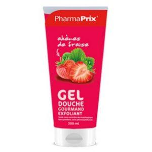Pharmaprix Gel douche Gourmand Exfoliant Fraise 200 ml
