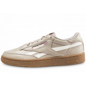 Reebok Homme Revenge Plus Indoor Beige Baskets