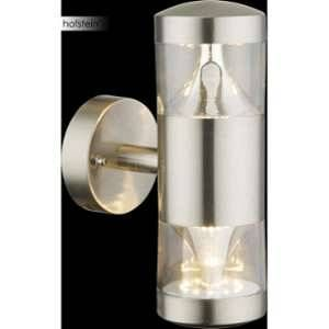 Globo Lighting Applique extérieure inox - Plastique translucide - IP44