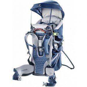 Deuter Kid Comfort Active - Porte-bébé de randonnée taille One Size, bleu/gris