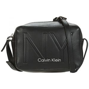 Calvin Klein Sac Bandouliere Jeans MUST PSP20 CAMERABAG NY Noir - Taille Unique