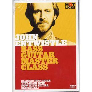 Music Sales Entwistle John bass guitar master class
