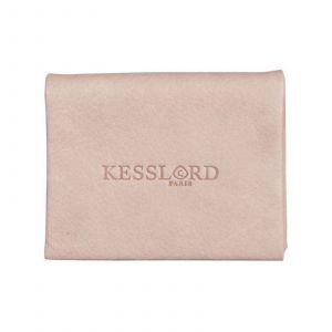 Kesslord Kart - Portes-cartes en Cuir de vachette naturel - rose