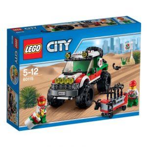 Lego 60115 - City : Le 4x4 tout-terrain