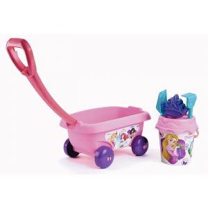 Smoby Chariot de Plage Garni - Disney Princesses