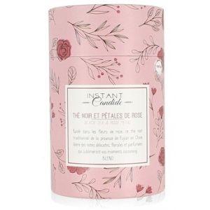 Instant Candide Boite thé Noir à la Rose