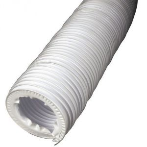 Xavax 00110945 - Tuyau d'évacuation d'air pour sèche-linge 4 m