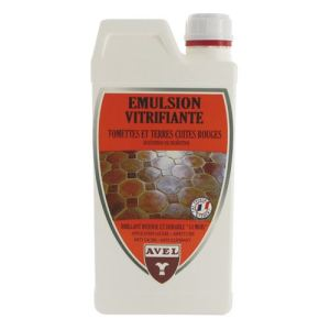 Avel Emulsion vitrifiante pour tomette et terre cuite rouge (1 L)