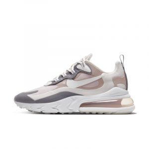 Nike Air Max 270 React - Baskets - Gris et rose