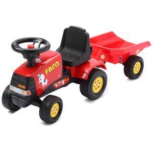 Falk Porteur tracteur Farm Pony avec remorque