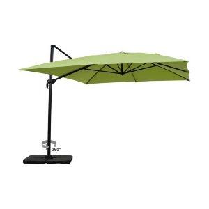 Viva Green Sun 4 - Parasol jardin déporté en aluminium 3 x 4 m