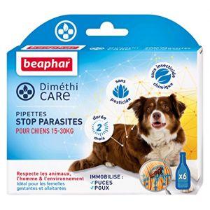 Beaphar Diméthicare - Stop Parasites 6 pipettes pour chien 15-30 kg