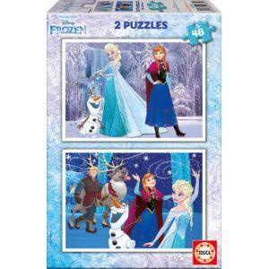 Educa Frozen - Puzzle 2 x 48 pièces