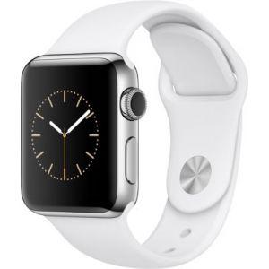 Apple Watch 42 mm séries 2 - Montre connectée Boîtier acier avec Bracelet Sport