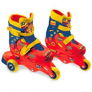 Mondo Rollers évolutifs pour enfants Cars (29 au 32)
