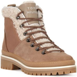 Tommy Hilfiger Boots COSY OUTDOOR BOOTIE Beige - Taille 36,37,38,39,40,41