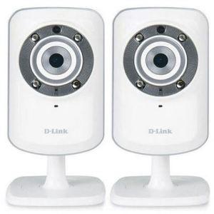 D-link DCS-932LX2 - Pack de 2 caméras IP DCS-932L