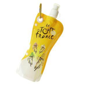 Bidon souple Tour de France AquaFlex 580 ml