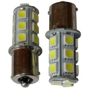 Aerzetix 2x ampoule 24V P21W R10W R5W 18LED SMD blanc pour semi-remorque porte de garage portail