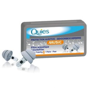 Quies Music protection auditive, 1 paire