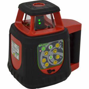 """Futech Niveau laser rotatif + récepteur vert """"Gyro Green"""" 060.02.50.G"""