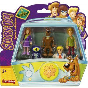 Lansay Coffret 5 mini figurines Scooby-Doo articulées