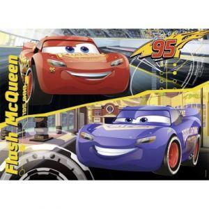 Nathan Puzzle Cars 3 : La transformation de Flash Mc Queen (45 pièces)