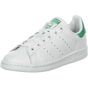 Adidas Stan Smith Junior M20605 - Baskets Mode Enfant/Fille, Blanc, 38 EU