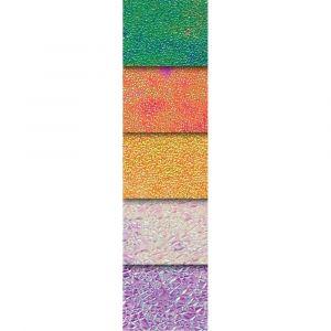 Feuilles de papier iridescent dimensions 14 x 14 cm - Paquet de 50