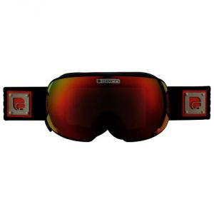 Cairn Gravity SPX 3000 Ium Noir Mat Orange + Yellow Spx 1000 - Masque de ski