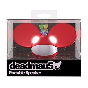 KitSound Deadmau5 - Haut Parleur Universel Portable 3.5mm Jack