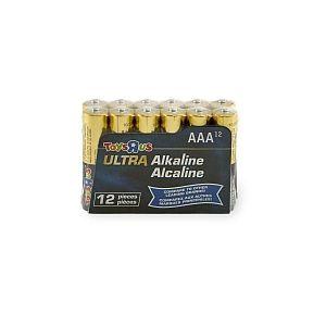 Pack de 12 piles Alcaline AAA (LR03)