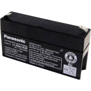 Panasonic Batterie plomb (AGM) 6 V 1.3 Ah 6 V 1,3 Ah