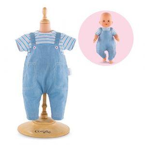 Corolle Vêtements pour poupée mon grand poupon 36 cm : Salopette et tee-shirt