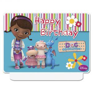 Bougies d'anniversaire Docteur la Peluche