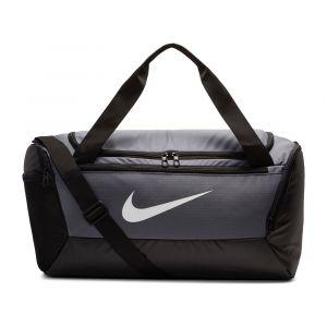 Nike Sac de sport de training Brasilia (petite taille) - Gris - Taille ONE SIZE - Unisex