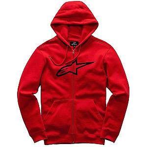 Alpinestars Sweat zippé à capuche Ageless II rouge/noir - L