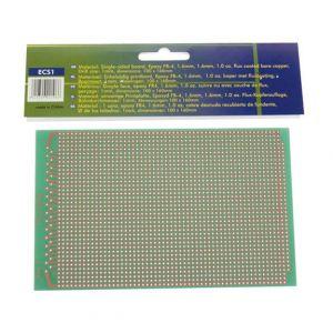 Veka EUROCARD PASTILLE 1 TROU 100x160mm FR4 (1pc-bl)